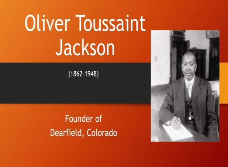 Oliver Toussaint Jackson